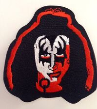 KISS GENE SIMMONS PATCH  Rock Star Band 🎤 Iron on Patch Badge Dress Up Costume