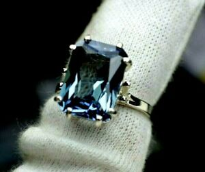 8.40+CT WOMAN S RING.RUSSIAN WELL TEST REAL LAB  ALEXANDRITE  COLOR CHANGE