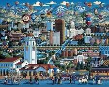Jigsaw puzzle Explore America Boise Idaho NEW 500 piece Made in USA