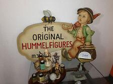 "HUMMEL Wooden Dealer Plaque "" The Original Hummel Figurines"" 33"" x 22.5"" x 2.5"""