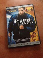 ☀ The Bourne Identity COLLECTOR'S EDITION DVD WS Matt Damon French Audio MINT R1