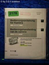 Sony Bedienungsanleitung CCD TRV228E /TRV428E /TRV255E /TRV265E (#2178)