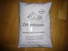 Zirbenkissen für Erholung im Schlaf, 20x30cm mit Zirbenflocken und Zirbenspäne