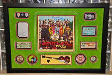 Paul McCartney signed autographed Sgt Pepper LP record album THE BEATLES PSA DNA