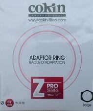 COKIN Z SERIES ANELLO ADATTATORE A 67mm 67 mm Z467 autentico COKIN UK STOCK