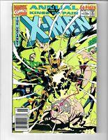 THE UNCANNY X-MEN #15 ANNUAL 1991 MARVEL COMIC.#109408D*4