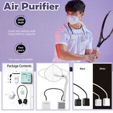Electrical Airpro Mask Air Purifying Respirator With 2 Reusable Mask Hepa Filter