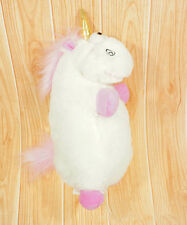 "16"" inch Despicable Me Fluffy Plush Soft Unicorn Stuffed Animal Pony Toy Doll"