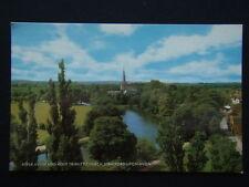 River Avon and Holy Trinity Church Stratford-Upon-Avon c1970's Postcard (P234)