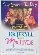 DR JEKYLL AND MS HYDE / ORIGINAL VINTAGE VIDEO FILM POSTER / SEAN YOUNG 4