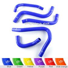 For HONDA CBR1100XX CBR 1100 XX 97-03 SILICONE RADIATOR COOLANT 3-PLY HOSES Blue