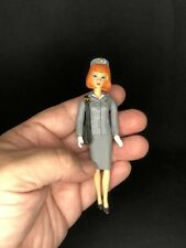 2009 My Favorite Barbie Career 1966 Pan Airways Stewardess Mini Figure Doll RARE