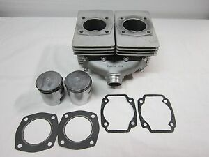Kawasaki Snowmobile 340 FA Cylinders  and Pistons