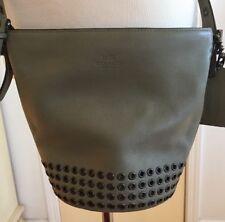 Coach Bleeker Duffle with grommets mini bucket bag hand bag handbag