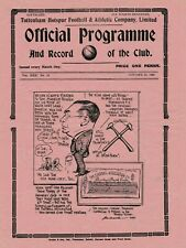 More details for rare pre-ww2 war football programme tottenham hotspur v west ham united 1938
