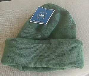 Winter We Essentials Unisex One Size Winter black green Camouflage beanie Hat