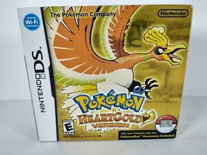 Pokemon HeartGold Version ~ Cardboard Box Only
