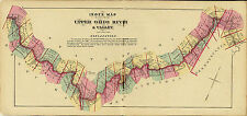 1877 Illustrated map Atlas Upper Ohio River land ownership Index map to Atlas 2