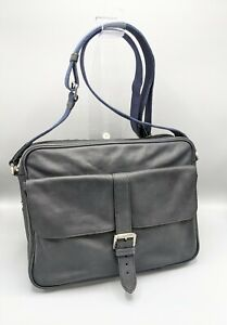 Mulberry  Messenger Bag / Laptop / Briefcase in Black Soft  Leather