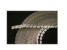 100' Light FLEXIBLE METAL TACK STRIP (Curve-Ease) three-tooth, Upholstery- USA