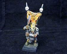 Warhammer Beast Chaos Beastmen painted   metal  OOP  Beastlord  wargor