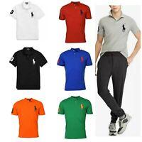 Polo Ralph Lauren Men's Polo Shirt S M L XL XXL Big Pony Mesh Shirt, New $98.50