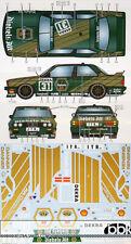 STUDIO 27 1/24 BMW M3 E30 DIEBELS ALT #31 #32 DTM 1991 DECAL for AOSHIMA DANNER