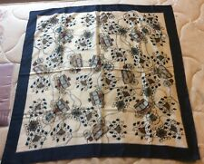 Beautiful Italian Scarf  - 36x36 inches appro