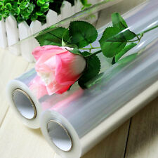 Transparent Cellophane Rouleaux Fleuriste Craft Film Enveloppement 100mX80cm