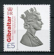 Gibraltar 2017 MNH 1967 Referendum 50th Anniv Queen Elizabeth II 1v Set Stamps