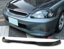 TR Urethane Front Bumper Lip Spoiler Body kit For 96-98 Honda Civic 2 3 4 Dr