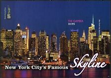 Gambia 2016 New York'S Iconic Sites & Scenes Souvenir Sheet Mint Nh