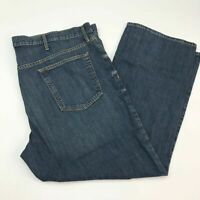 Old Navy Denim Jeans Mens 46X30 Blue Straight Regular Fit Cotton Medium Washed