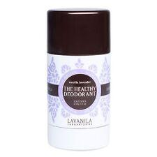 La Vanilla The Healthy Deodorant Solid Stick Vanilla Lavender 2.0 oz New &Unbox