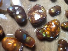 fire agate,preformed cabochons and windows slaughter mountain arizona stones