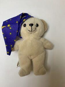 Teeny Bean Snuggle Bear Lever Brothers 2001 Plush Toy Beanie