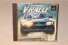 V-RALLY CHAMPIONSHIP EDITION SONY PLAYSTATION ONE PS1 2 PSX NTSC-J IMPORT JAPAN