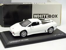 White Box 1/43 - Lamborghini P140 1988 Blanche