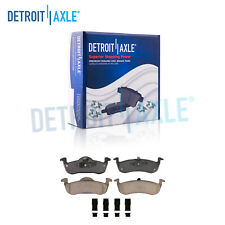Rear Ceramic Brake Pads w/Hardware for 2007 - 2017 Ford Expedition Navigator