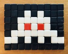 Space Invader Mosaic Art Invasion Kit Replica #1 Albino