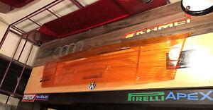 Genuine BMW E36 M3, Alpina Sedan Heckblende All Orange 82129401295 NOS RARE Euro