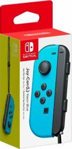 Nintendo - Joy-Con (L) - Neon Blue