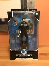 *NEW* Mcfarlane DC Multiverse The Joker White Knight Action Figure Toy w/ Card