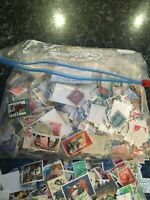2000+ WORLD OFF PAPER COLLECTION /MIXTURE STAMPS (KILOWARE)