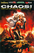 Chaos! Quarterly #2 - Chaos! Comics January 1996, Boris Vallejo, $4.95 cover