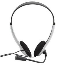 Stereo Headphone Headset Earphone with Microphone Mic for PC Laptop HF# AU58