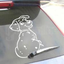 Chien arrière Voiture Fenêtre Autocollant Adhésif Sticker remuant essuie-glace Queue mignon Accessoire