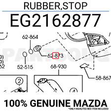 EG2162877 Genuine Mazda RUBBER,STOP EG21-62-877