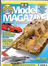 Tamiya Model Magazine  Issue 161, MAR 2009  VF to NM-, Tamiya Jagdtiger 1/35 Art