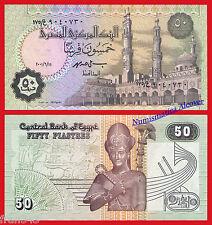 EGIPTO EGYPT 50 piastres 2001 SIGN 19  Pick 62  SC / UNC